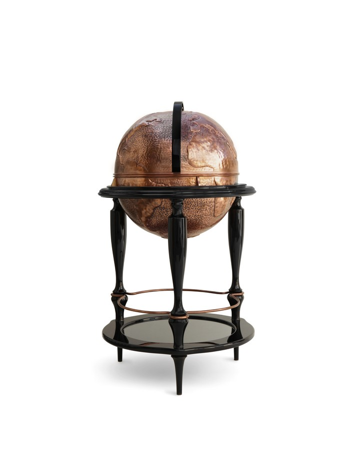 boca do lobo Breathtaking Globe Bar Cabinet by Boca do Lobo equator 07