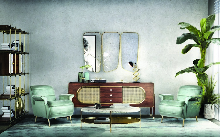 vintage Get a Vintage style with Mid-Century Buffets EH Project Tribeca Loft 8