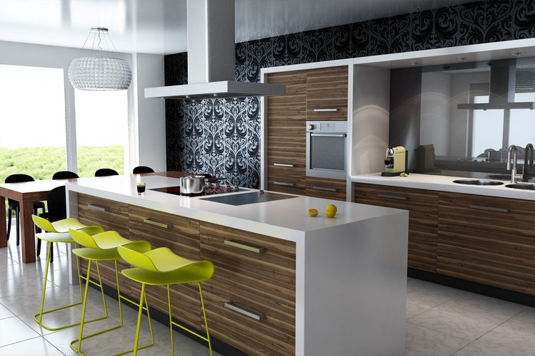 10 Modern Kitchens with Futuristic Cabinets modern kitchens 10 Modern Kitchens with Futuristic Cabinets Kitchens with Futuristic Cabinets 2