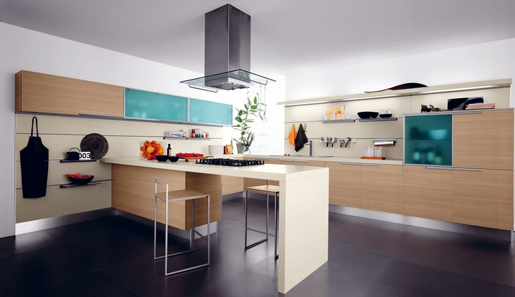 modern kitchens 10 Modern Kitchens with Futuristic Cabinets Kitchens with Futuristic Cabinets 3