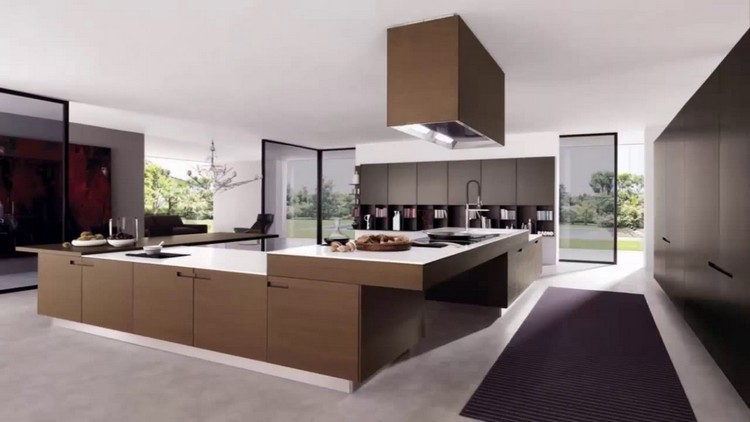 modern kitchens 10 Modern Kitchens with Futuristic Cabinets Kitchens with Futuristic Cabinets 4