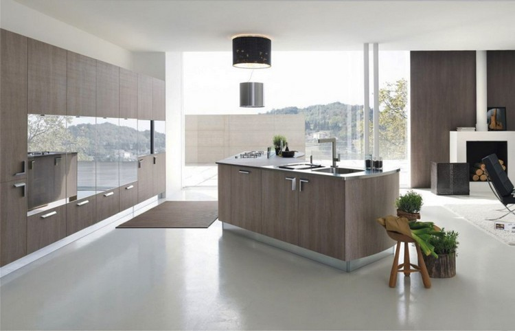 10 Modern Kitchens with Futuristic Cabinets modern kitchens 10 Modern Kitchens with Futuristic Cabinets Kitchens with Futuristic Cabinets 5