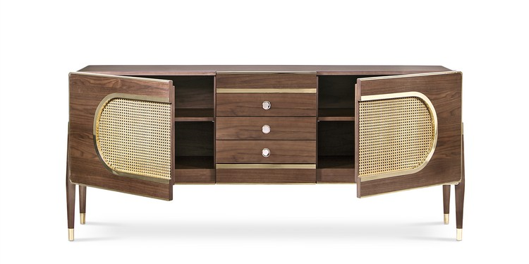 vintage Get a Vintage style with Mid-Century Buffets dandy sideboard 02 HR