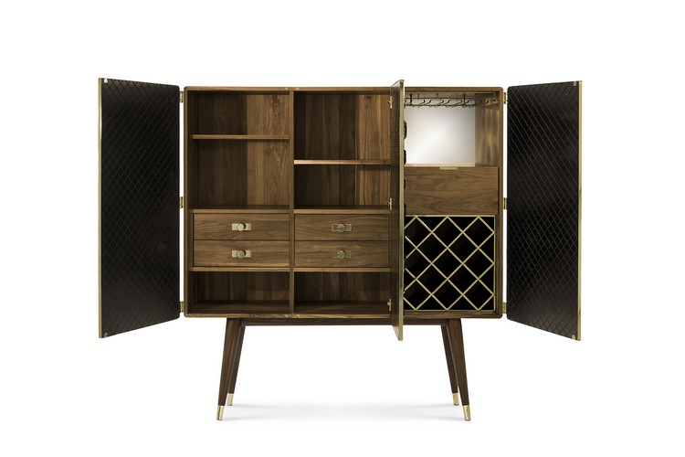 vintage Get a Vintage style with Mid-Century Buffets monocles cabinet 05 HR