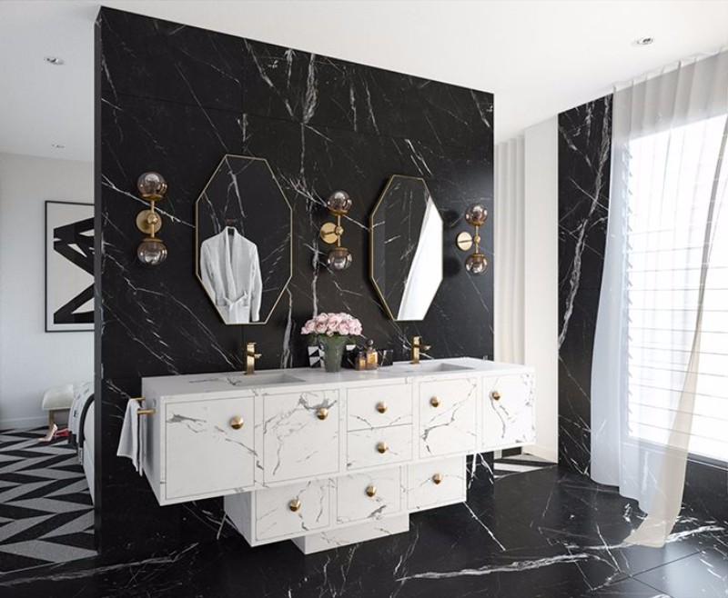 Alice in Wonderland And Rock&Roll Inspired Top Interior Designer | www.bocadolobo.com #exclusivedesign #interiordesign #famousinteriordesigners #bestinteriordesigners #interiordesign #sideboards #cabinets #buffetsandcabinets #buffets #black #white #rock&roll #aliceinwonderland