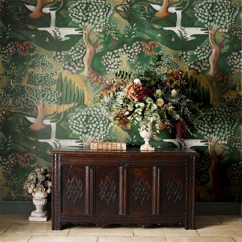 wallpaper wallpaper The Best Wallpaper Designs for your Living Room The Best Wallpaper Designs for your Living Room12