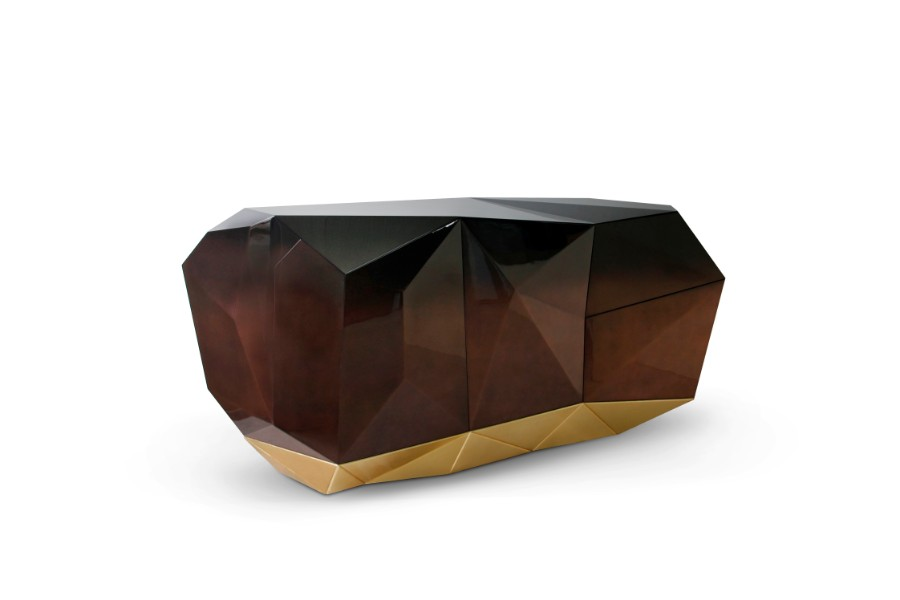 sideboard Diamond Sideboard Collection by Boca do Lobo diamond chocolate sideboard boca do lobo 01