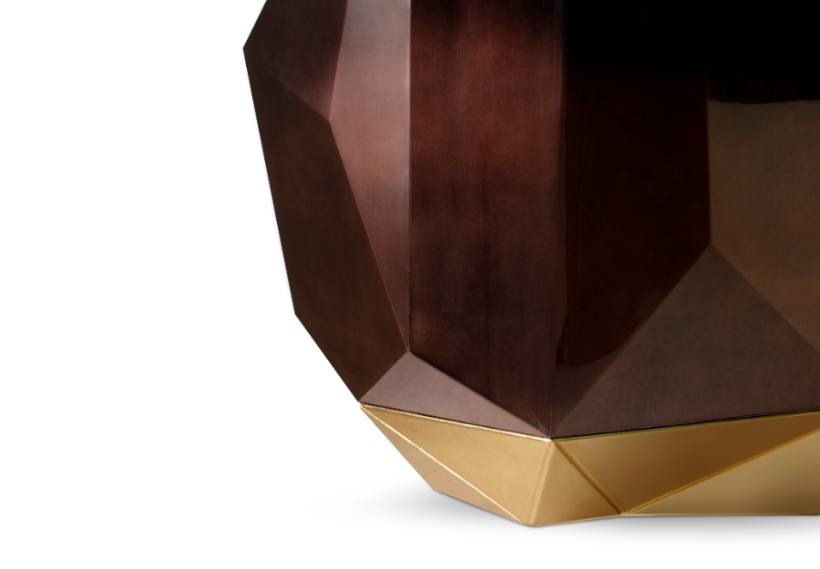 sideboard Diamond Sideboard Collection by Boca do Lobo diamond chocolate sideboard boca do lobo 02