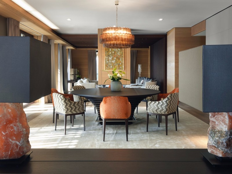 Luxury Cabinets In Russian Residence Designed by Arch. Predmet | www.bocadolobo.com #buffetsandcabinets #cabinetsandsideboards #sideboards #luxuryinteriors #topinteriordesigners #famousinteriordesigners #bestinteriordesigners #interiordesigners #luxury #luxurious #luxurysideboards #luxurycabinets #luxuryinteriors @buffetsandcabinets