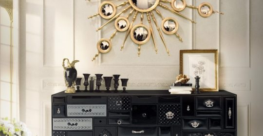 The Sideboards By Boca do Lobo's Limited Edition Collection (Part I) | www.bocadolobo.com #buffetsandcabinets #cabinets #cabinetsandsideboards #luxurybrands #luxury #luxurious #famousbrands #highendbrands #gold #exclusivedesign #interiordesign @buffetsandcabinets