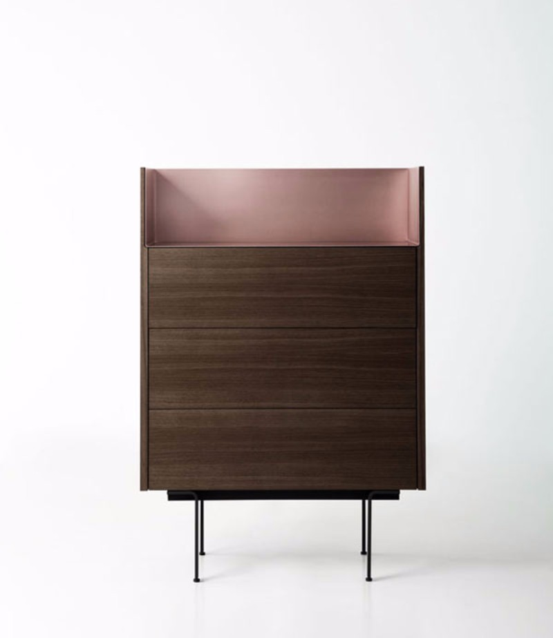 These Cabinets Combine Wood And Aluminum | www.bocadolobo.com #buffetsandsideboards #luxurybrands #luxury #roomdesign #interiordesign #productdesign #livingroom #wood #woodfurniture @buffetsandcabinets sideboard These Sideboards Combine Wood And Aluminum These Sideboards Combine Wood And Aluminum 1