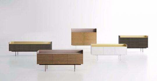 These Sideboards Combine Wood And Aluminum | www.bocadolobo.com #buffetsandsideboards #luxurybrands #luxury #roomdesign #interiordesign #productdesign #livingroom #wood #woodfurniture @buffetsandcabinets