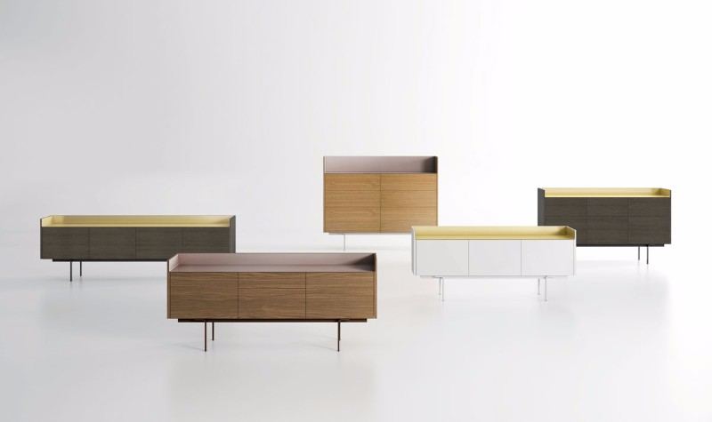 These Cabinets Combine Wood And Aluminum | www.bocadolobo.com #buffetsandsideboards #luxurybrands #luxury #roomdesign #interiordesign #productdesign #livingroom #wood #woodfurniture @buffetsandcabinets sideboard These Sideboards Combine Wood And Aluminum These Sideboards Combine Wood And Aluminum 3