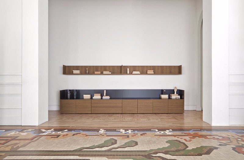 These Cabinets Combine Wood And Aluminum | www.bocadolobo.com #buffetsandsideboards #luxurybrands #luxury #roomdesign #interiordesign #productdesign #livingroom #wood #woodfurniture @buffetsandcabinets sideboard These Sideboards Combine Wood And Aluminum These Sideboards Combine Wood And Aluminum 4
