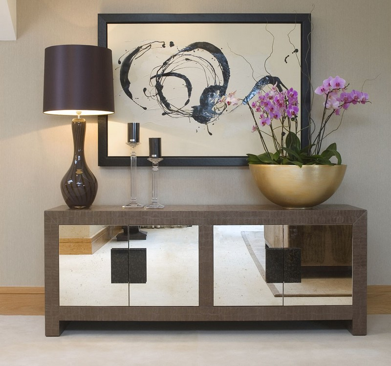 glass sideboards