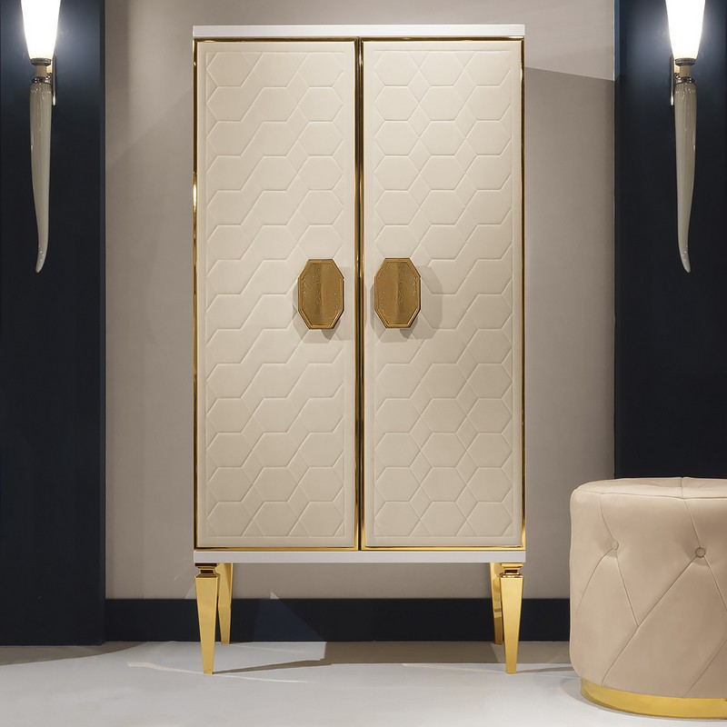 fabric finishes fabric finishes 15 Finest Cabinets with Fabric Finishes 15 Exclusive High End Italian Ivory Nubuck Leather Cabinet
