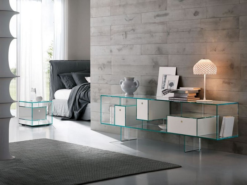 glass sideboards 10 Glass Sideboards You Will Need In Your House 2 Tonelli Liber Glass sideboard