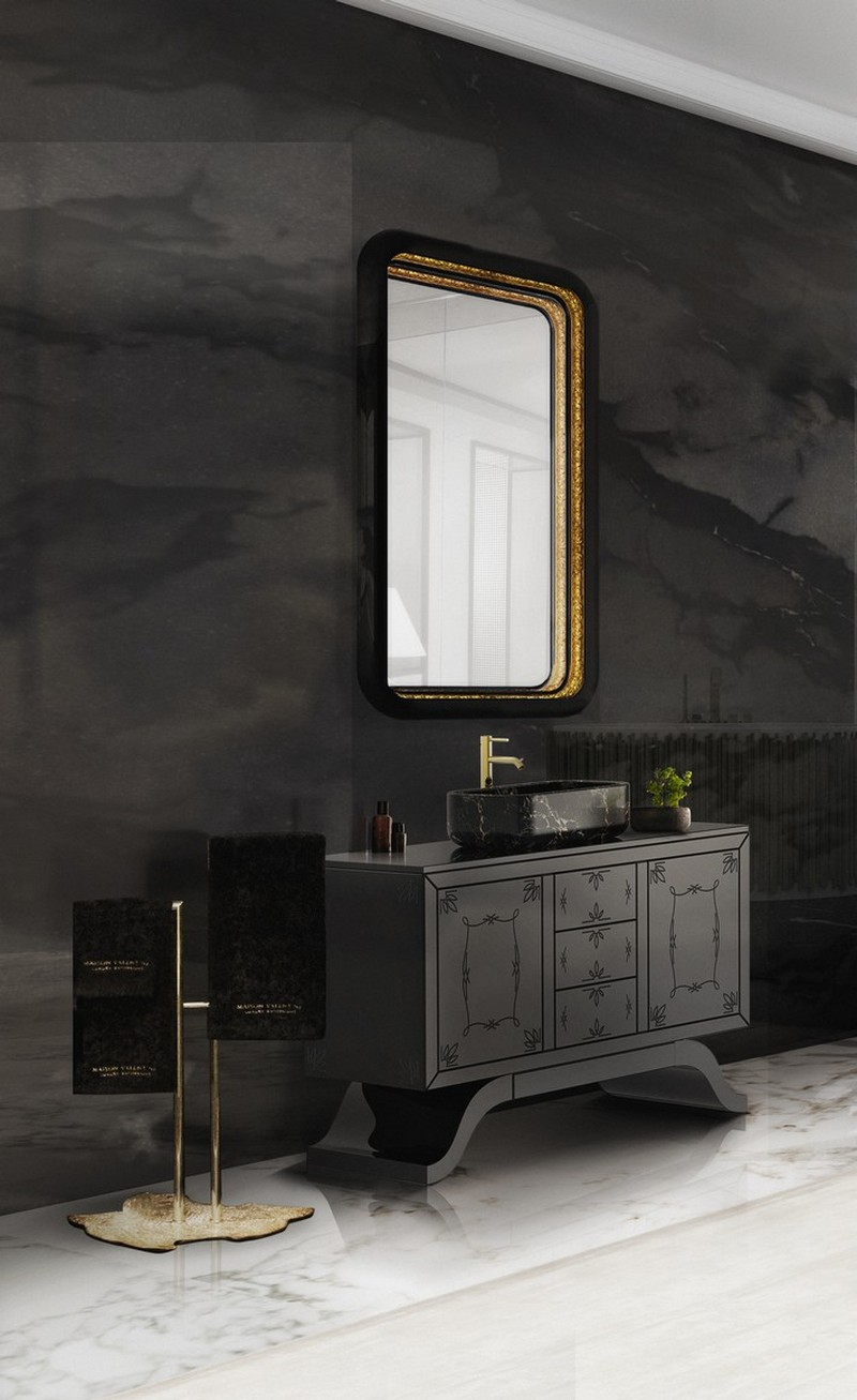 master bathroom master bathroom 10 Amazing Dressers and Cabinets  for a Luxury Master Bathroom 2 metropolitan washbasins ring mirror envy chaise long symphony bathtub maison valentina 2 HR