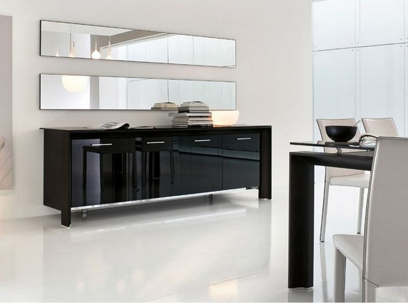 glass sideboards 10 Glass Sideboards You Will Need In Your House 3 Glass Sideboard Miami by Tonin Casa