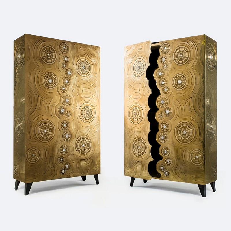 metal cabinets Top 10 metal cabinets for a luxury interior design 3 Top 10 metal cabinets for a luxury interior design dragon swirl 1