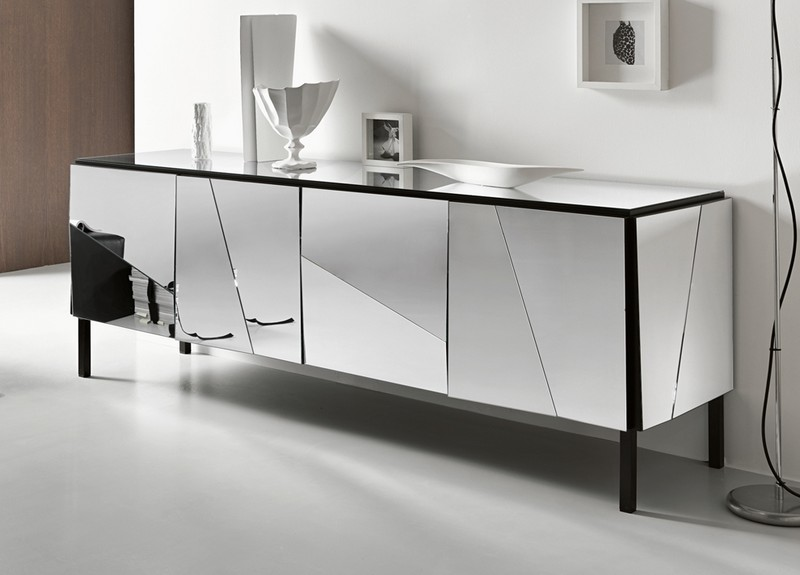 Glass Sideboards glass sideboards 10 Glass Sideboards You Will Need In Your House 4 Psiche sideboard from Tonelli Design