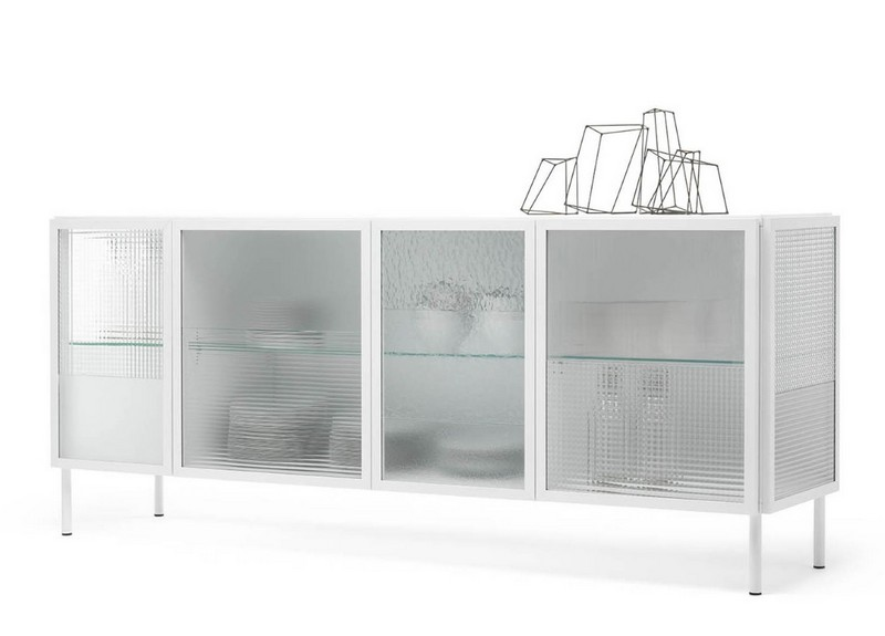 Glass Sideboards glass sideboards 10 Glass Sideboards You Will Need In Your House 5 MOGG VETRINETTY SIDEBOARD