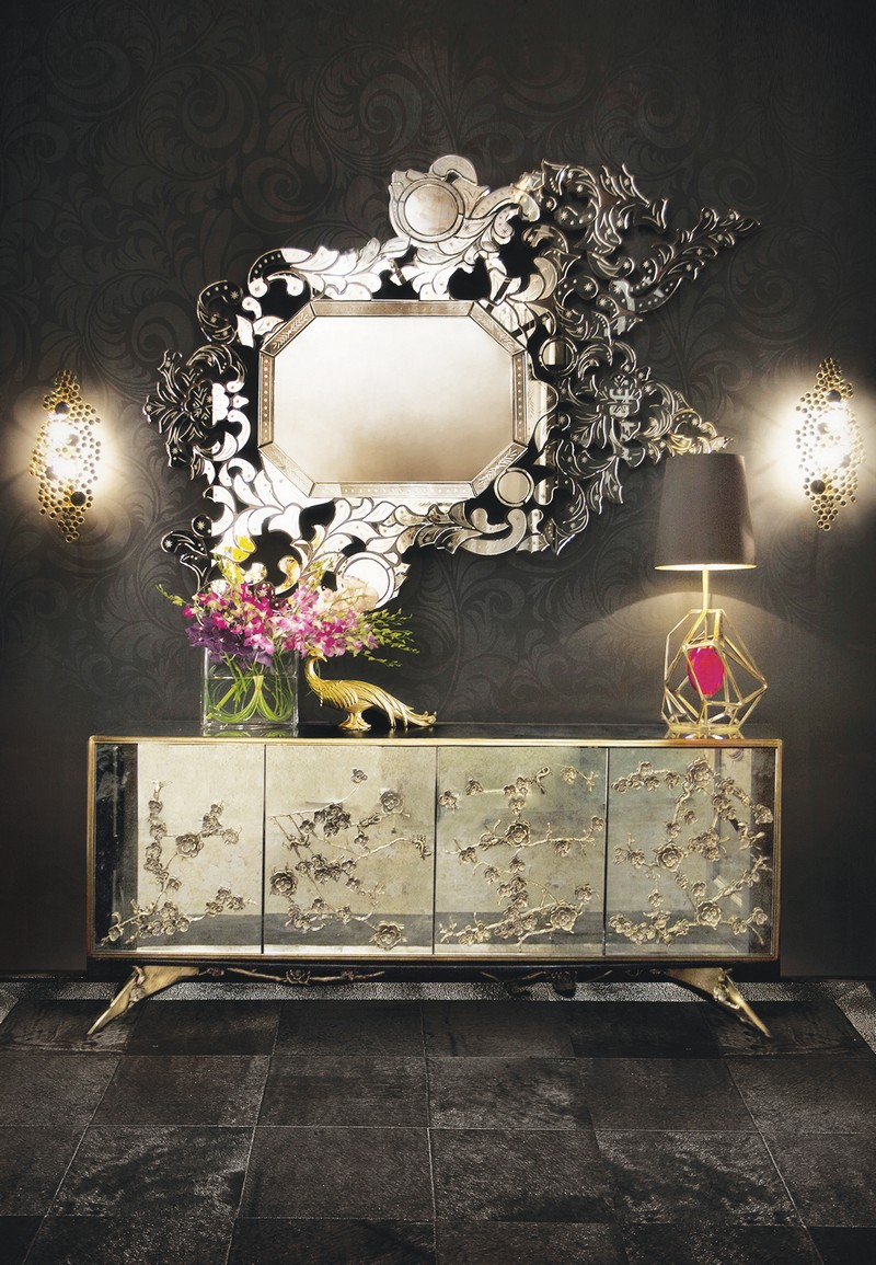Buffets And Sideboards The Perfect Table Lamps For Buffets And Sideboards 8 The Perfect Table Lamps For Buffets And Sideboards Spellbound Cabinet and Gem Lamp