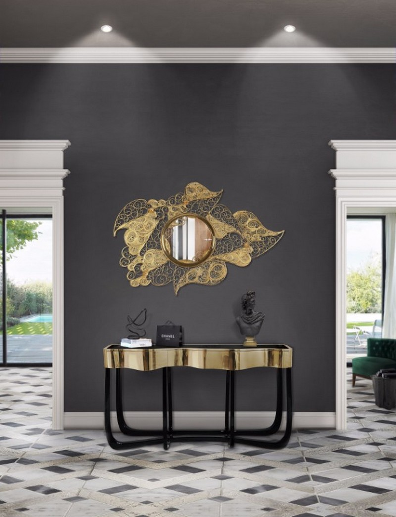 sideboards and mirrors sideboards and mirrors Perfect Matches: Sideboards and Mirrors in your Home Decor Sinuous Filigree