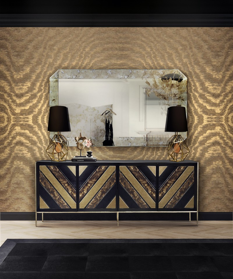 sideboards and mirrors Perfect Matches: Sideboards and Mirrors in your Home Decor Tamara mirror andopium sideboard koket
