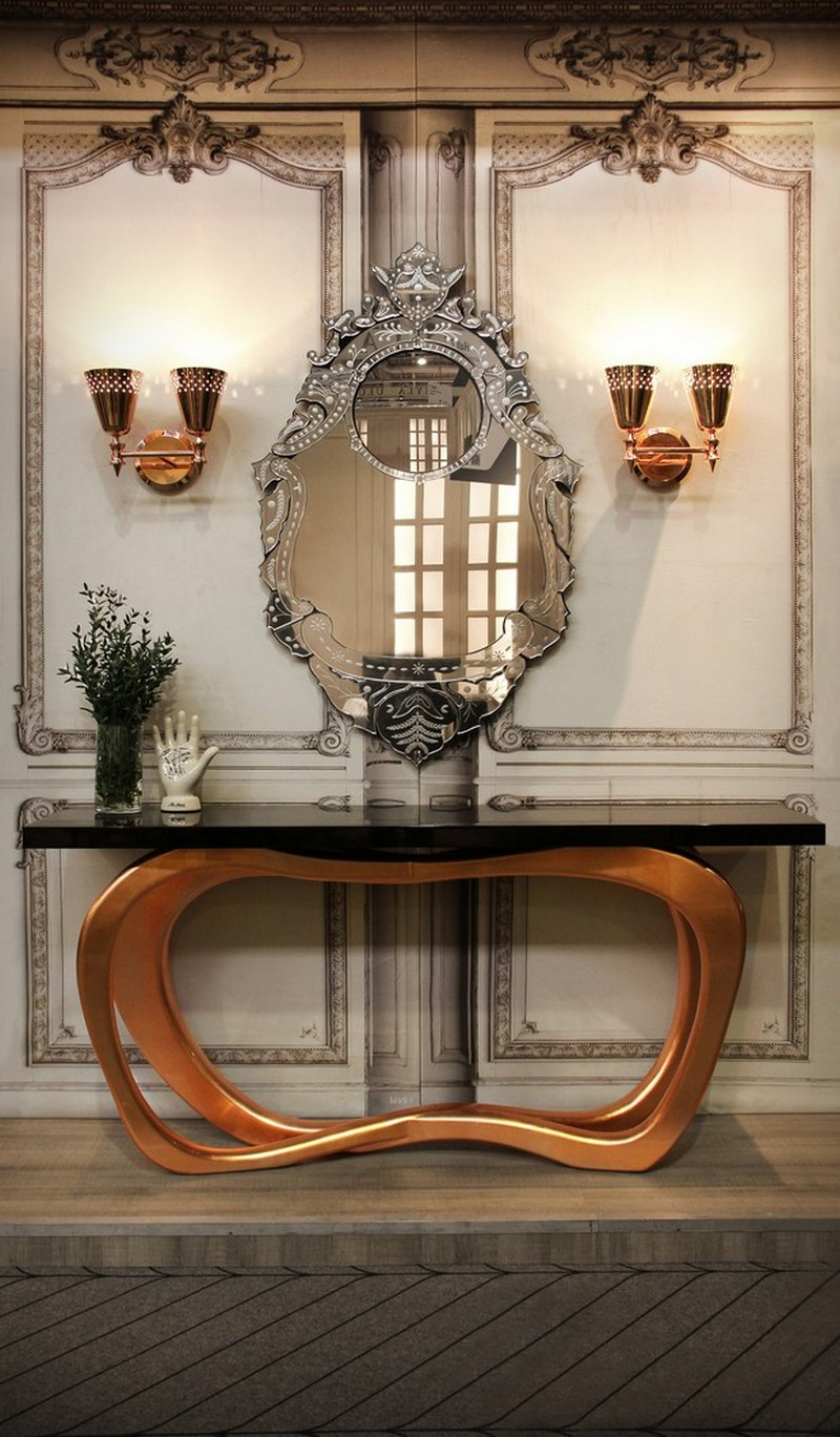 sideboards and mirrors