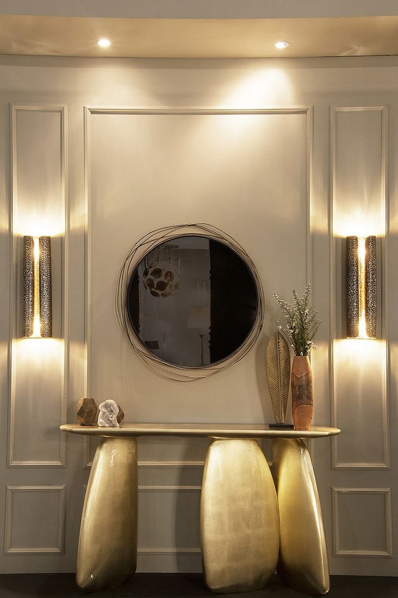 sideboards and mirrors Perfect Matches: Sideboards and Mirrors in your Home Decor mirror sideboard brabbu