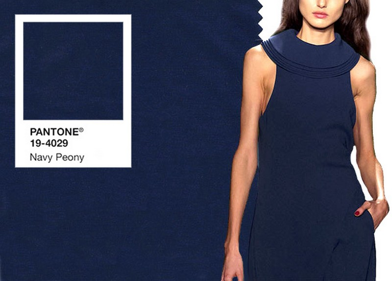 pantone colors pantone colors Discover the Pantone Colors for this Fall navy peony