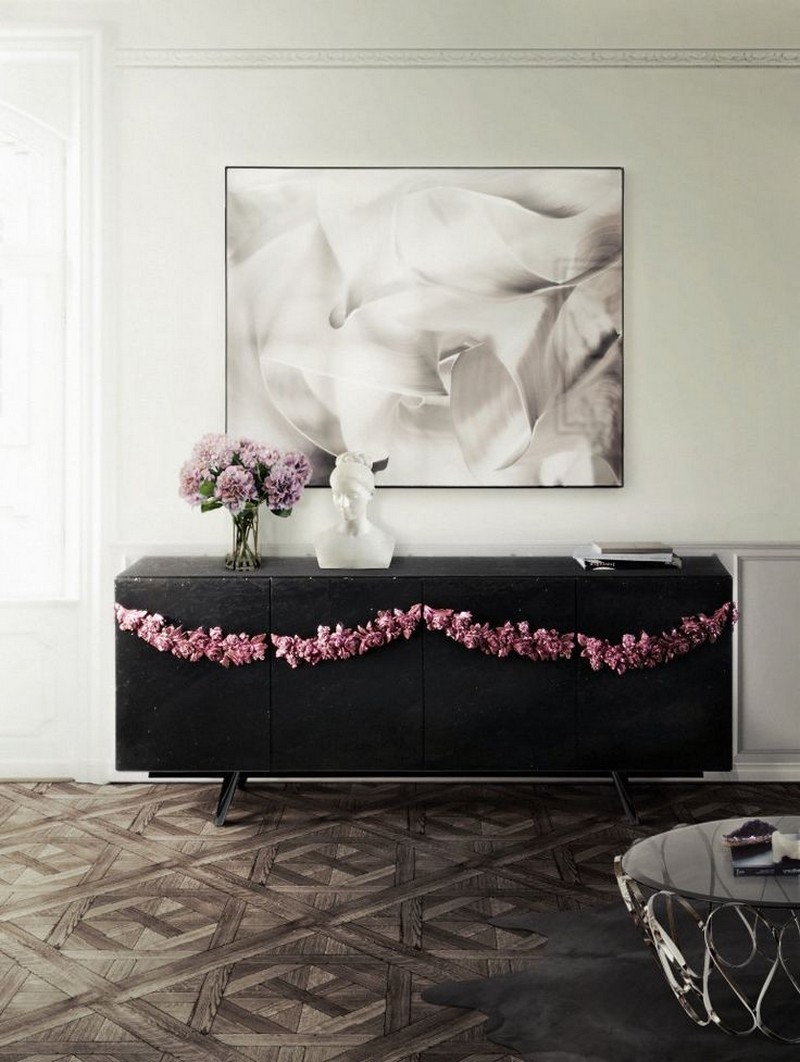 black sideboards Black Sideboards Black Sideboards in a Luxury Interior Design 1 Majestic sideboard Boca do Lobo