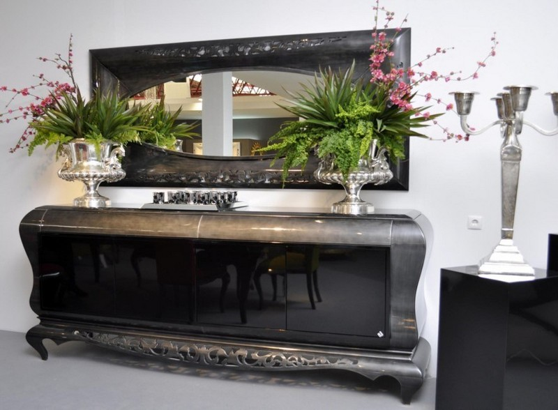 Black Sideboards Black Sideboards in a Luxury Interior Design 10 Black Sideboards In A Luxury Interior Design