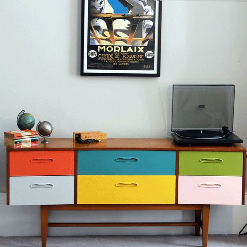 Dining Areas How to Fit a Colored Sideboard in Neutral Dining Areas 10 How To Fit a Colored Sideboard In A Neutral Dining Area