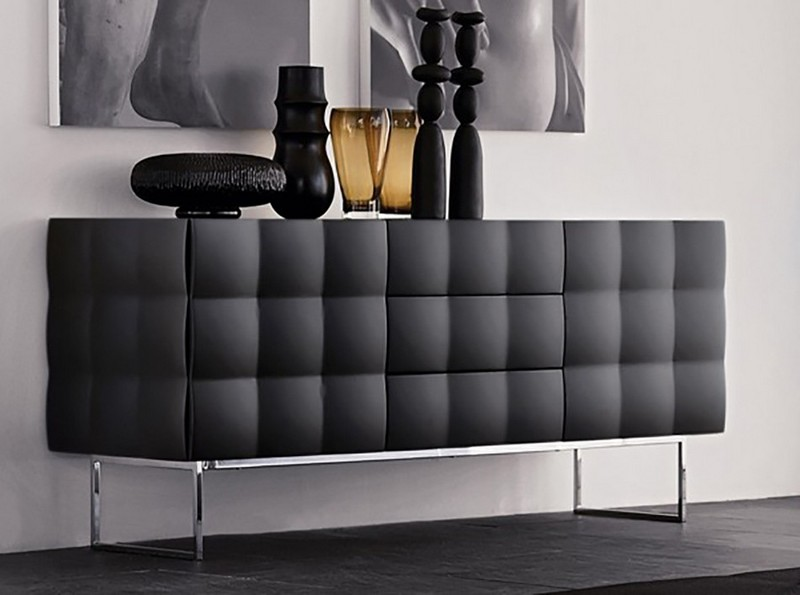 Black Sideboards Black Sideboards in a Luxury Interior Design 11 Black Sideboards In A Luxury Interior Design