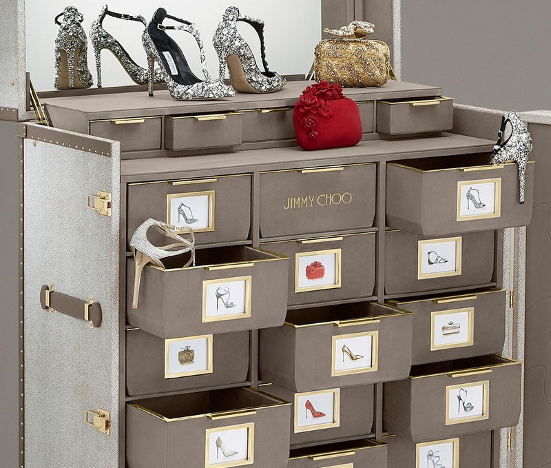Jimmy Choo jimmy choo Memento Trunk - Jimmy Choo's Amazing Shoe Cabinet Design 2 Memento Trunk Jimmy Choo   s Amazing Shoe Cabinet Design