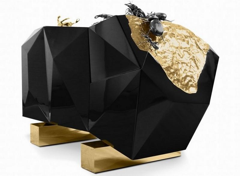 sideboard designs 50 Most Creative Sideboard Designs 2 diamond metamorphosis Boca do Lobo