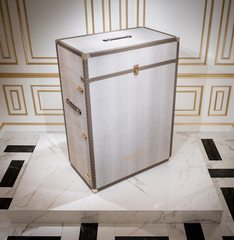 Jimmy Choo jimmy choo Memento Trunk - Jimmy Choo's Amazing Shoe Cabinet Design 4 Memento Trunk Jimmy Choo   s Amazing Shoe Cabinet Design
