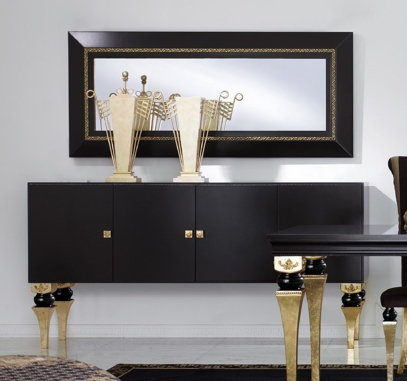 black sideboards Black Sideboards Black Sideboards in a Luxury Interior Design 5 Black Sideboards In A Luxury Interior Design