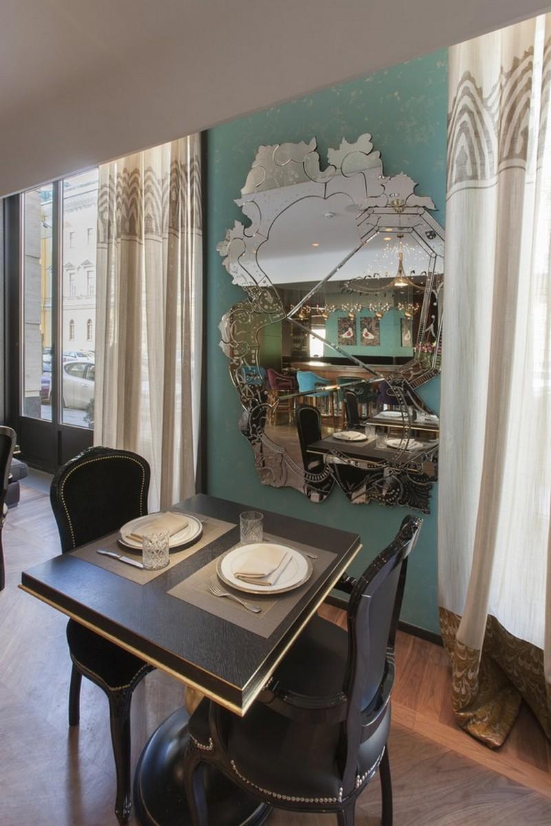 russian restaurant russian restaurant The Stunning Sideboards in Russian Restaurant Cococo 6 The Stunning Sideboards in Russian Restaurant Cococo Veneto mirror