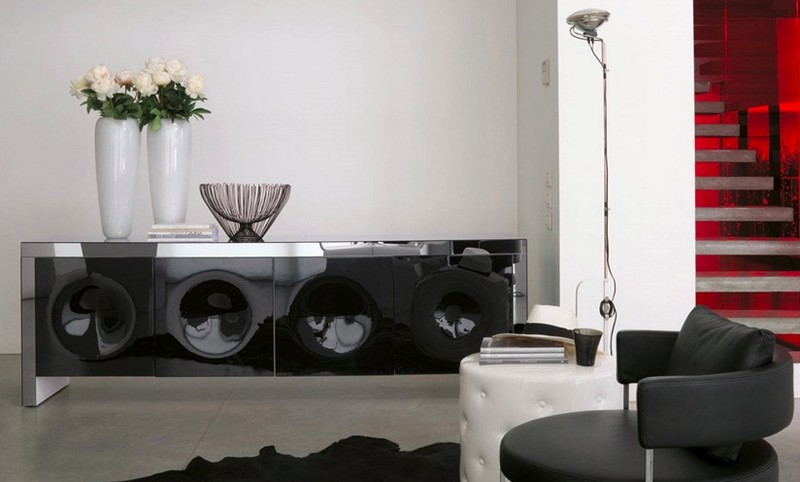 black sideboards Black Sideboards Black Sideboards in a Luxury Interior Design 7 Black Sideboards In A Luxury Interior Design