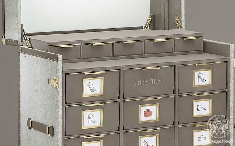 Jimmy Choo jimmy choo Memento Trunk - Jimmy Choo's Amazing Shoe Cabinet Design 7 Memento Trunk Jimmy Choo   s Amazing Shoe Cabinet Design