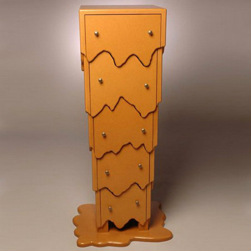 sideboard designs Spooky Cabinet and Sideboard Designs for Halloween 7 melting Cabinet 1