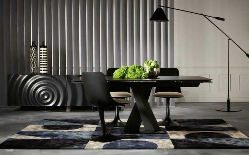 Black Sideboards Black Sideboards in a Luxury Interior Design 8 Black Sideboards In A Luxury Interior Design