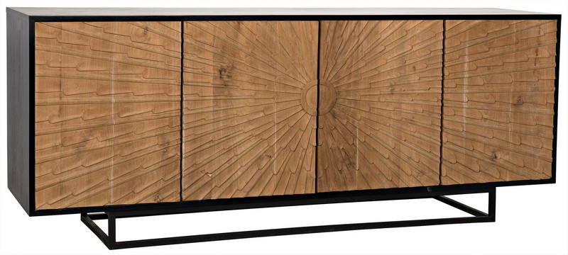 High Point Market The Best Buffets and Cabinets at High Point Market 8 Ra Sideboard by Noir Trading