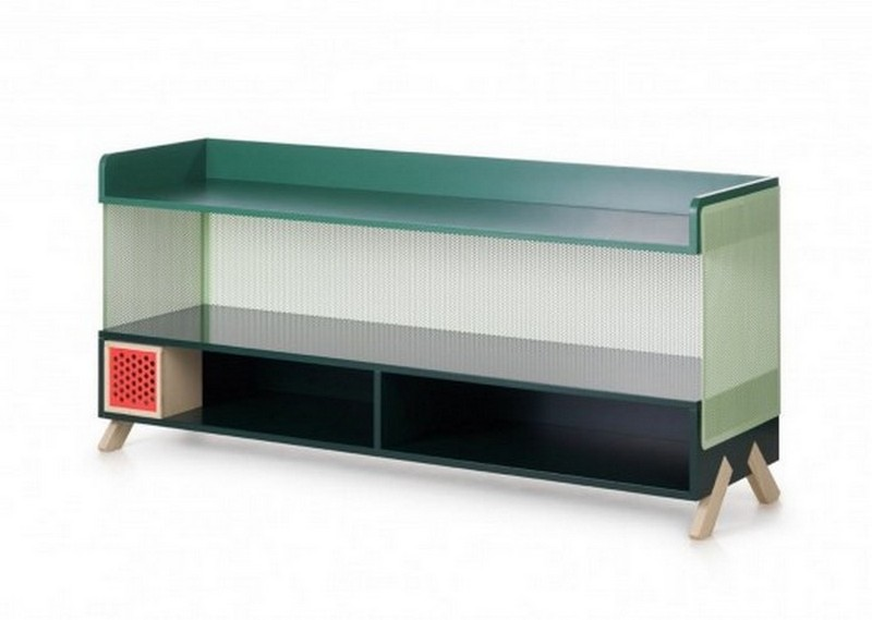 sideboard designs 50 Most Creative Sideboard Designs PEEP Creative colorful Storage Units by Note Design Studio 5 533x379