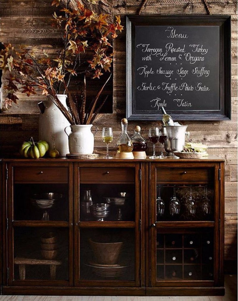 thanksgiving 10 Striking Top Interior Designers Thanksgiving Sideboard Decorations menu