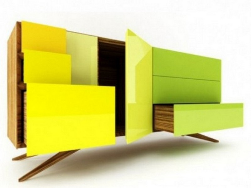 sideboard designs 50 Most Creative Sideboard Designs original and creative sideboard designs 45 554x415