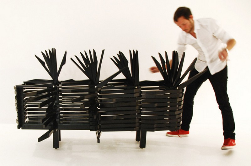 Sebastian Errazuriz The Astonishing Porcupine Cabinet by Sebastian Errazuriz porc11